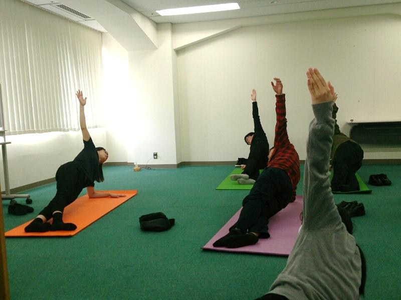 自重体幹トレーニング