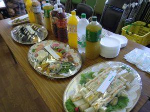 CA納涼祭(食事)